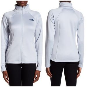 NWT North Face Agave Full Zip Jacket Arctic Ice